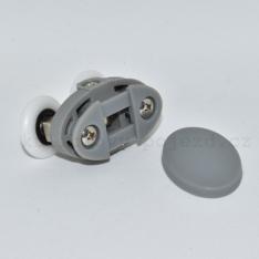 Pojezdové dvoj kolečko horní A080 ke sprchovému koutu (skladem jenom v šedé barvě)